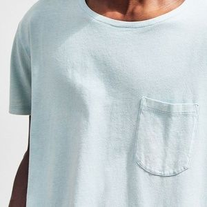 87c6560ca0b3 Urban Outfitters Shirts - Acid Wash Scoop Neck Curved Hem Tee
